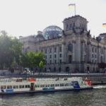 Dampfen im  Bundestag