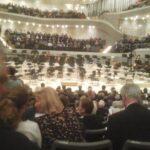 Dampfen in der Elbphilharmonie